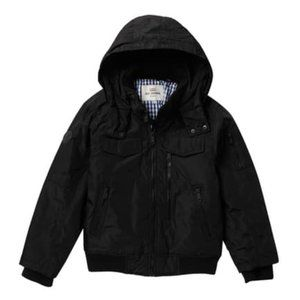 Ben Sherman Parka Bomber with Removable Faux Fur